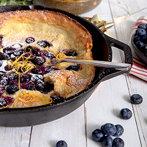 Blueberry-Lemon Dutch Baby