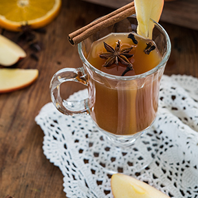 Maple-Apple Hot Toddy