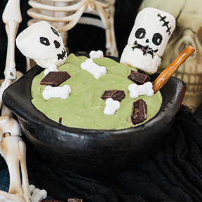 Witches' Cauldron Pudding