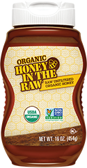 SAVE ON HONEY IN THE RAW® 16OZ BOTTLE