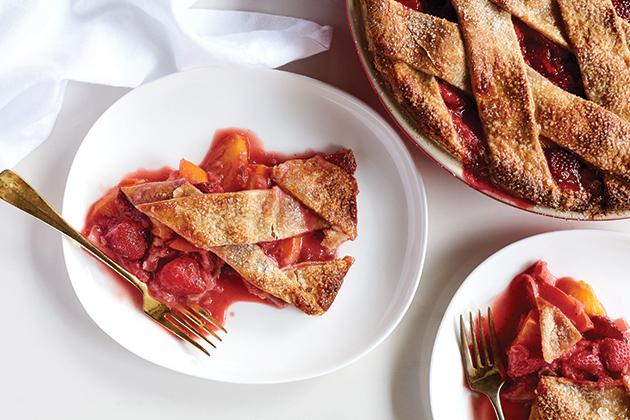 Strawberry Nectarine Pie