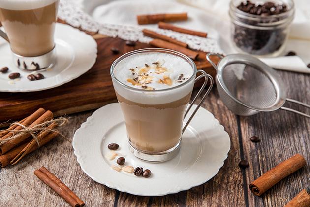 Dirty Chai Coconut Latte