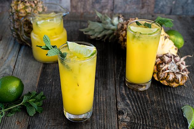 Pineapple-Mango Agua Fresca