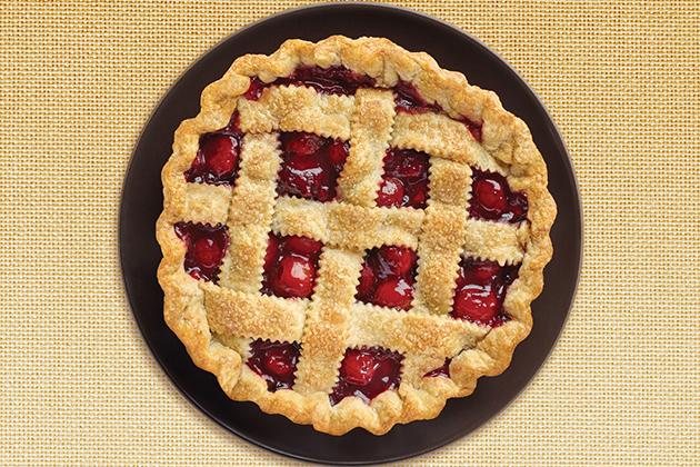 Cherry Lattice Pie