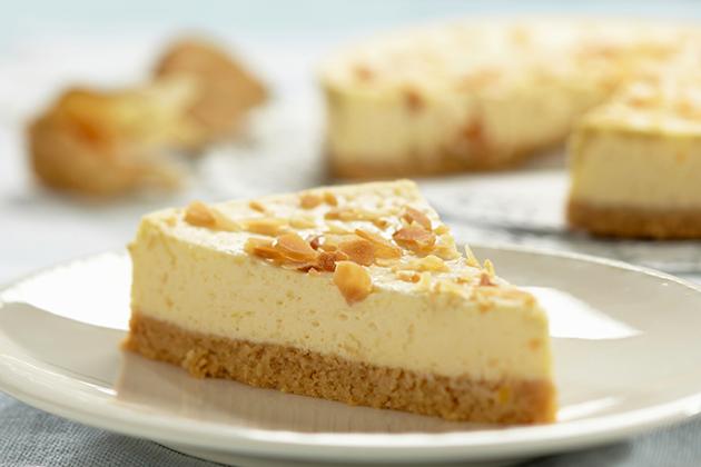 Chestnut Almond Cheesecake