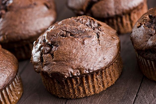 Chocolate Chia Muffins