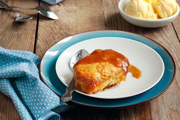 Maple-Caramel Pudding Cake
