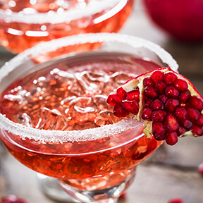 Spiced Pomegranate Mocktail