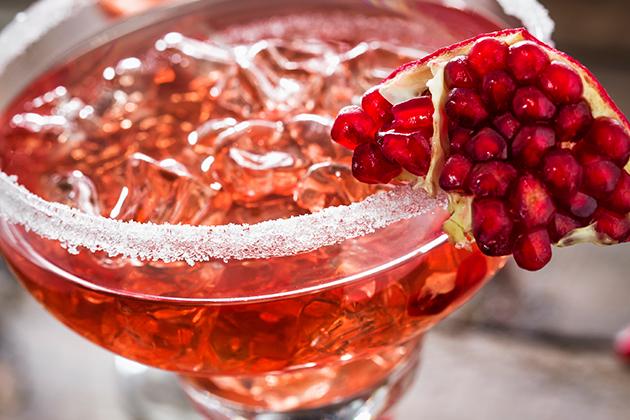 Spiced Pomegranate Mocktail