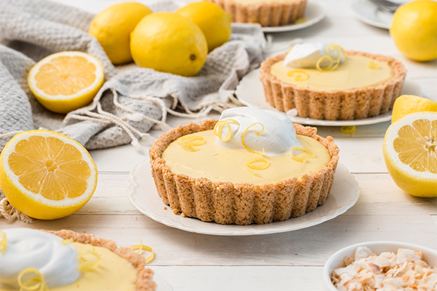 Vegan Lemon Tarts