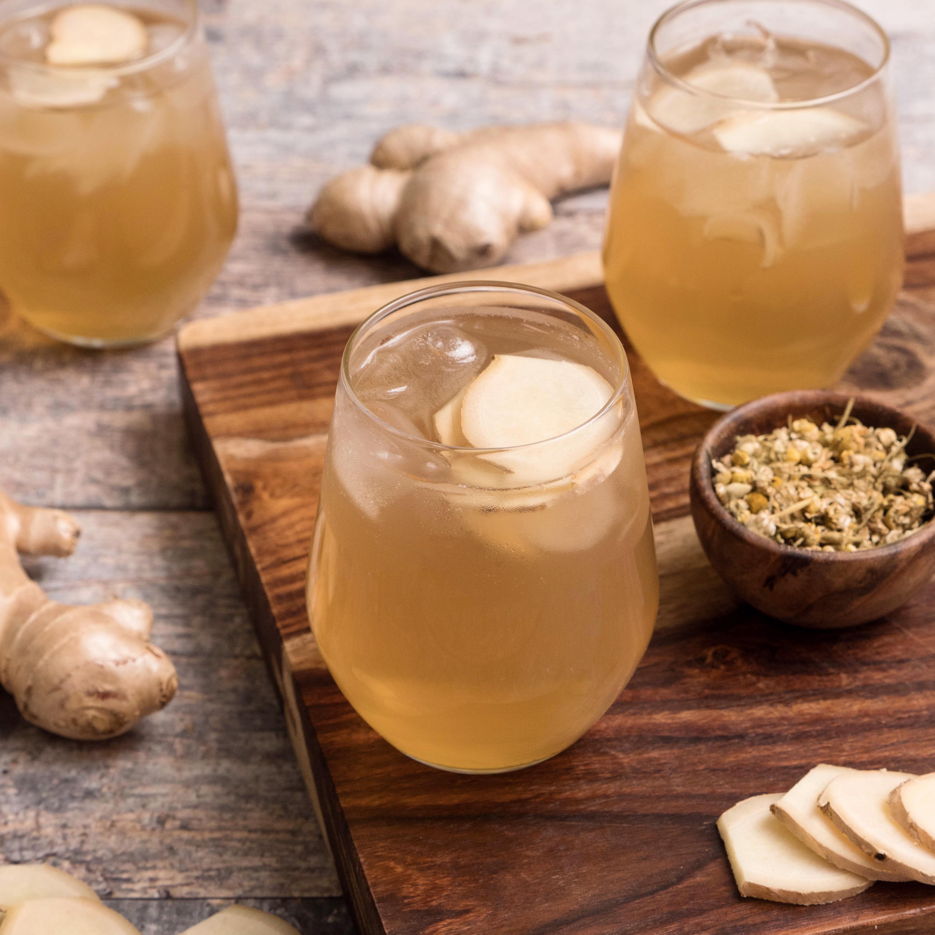 Honey-Chamomile Switchel