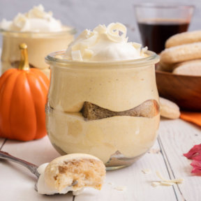 Reduced Sugar Pumpkin Tiramisu