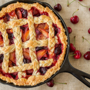 Cherry-Peach Pie