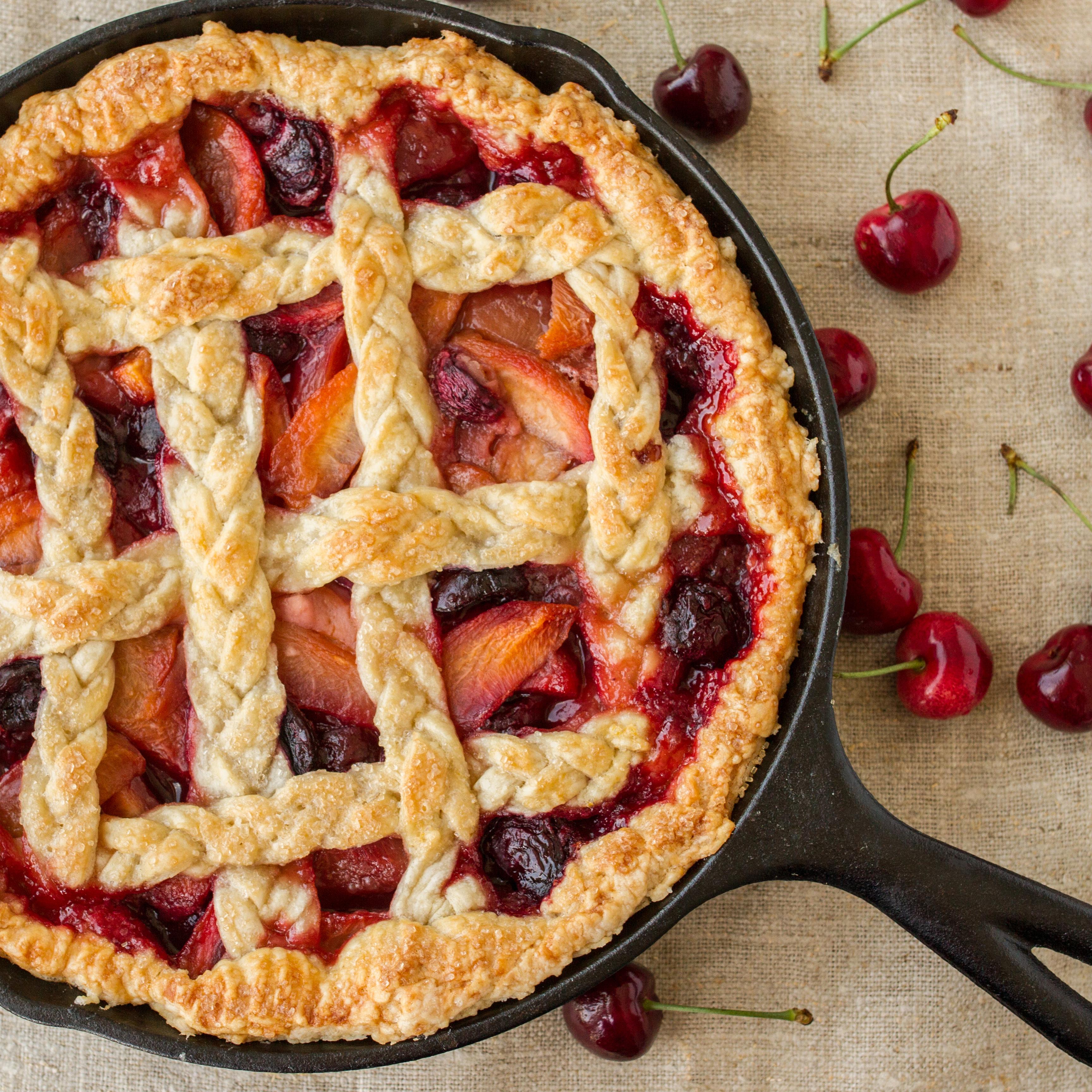 Cherry-Peach Pie