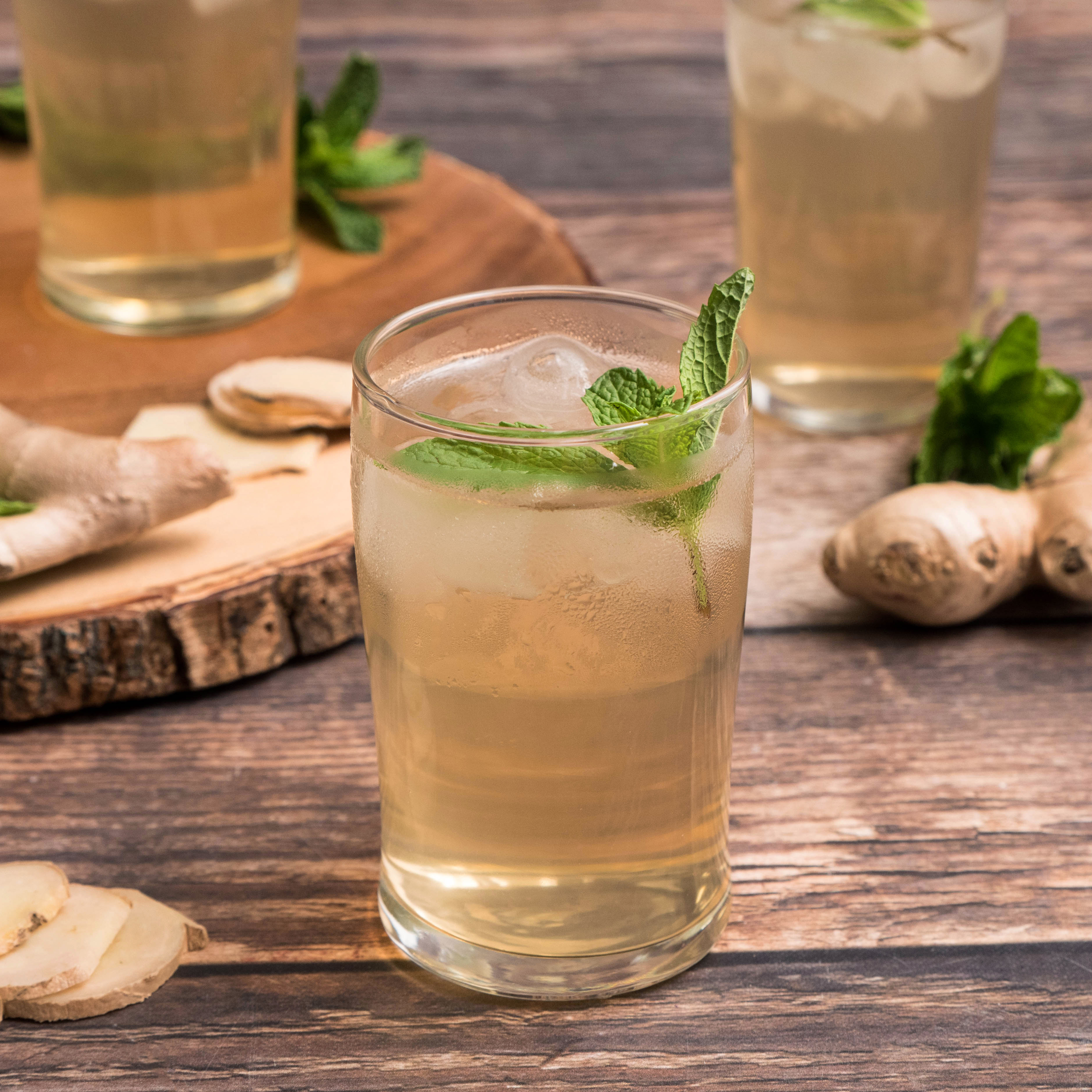 Ginger-Mint Switchel
