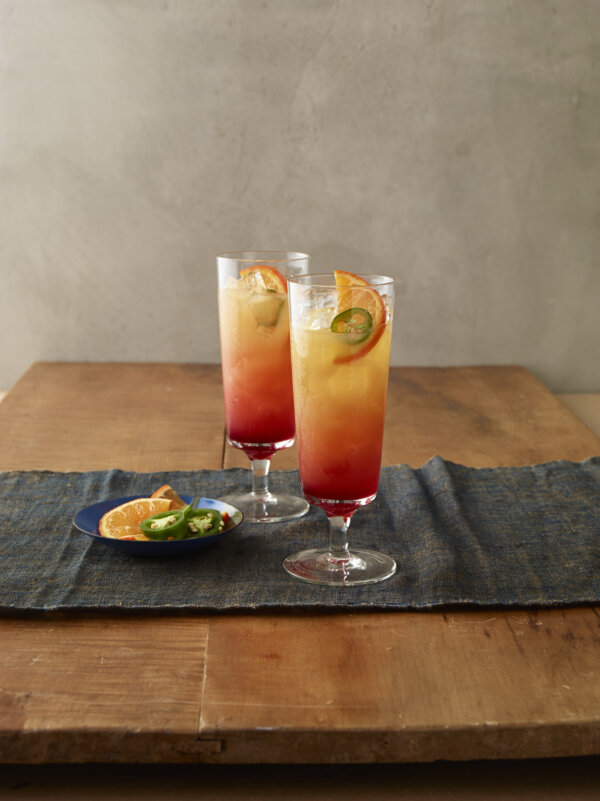 Spicy Tequila Sunrise