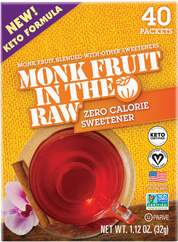 Monk Fruit In The Raw® Keto Packets