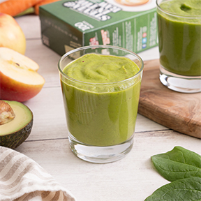 Spinach, Apple, and Carrot Smoothie