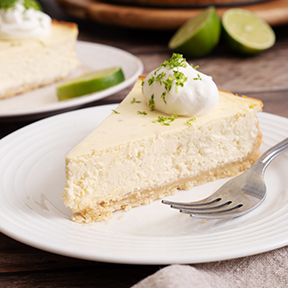 Keto Key Lime Cheesecake