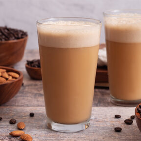 Vanilla Almond Bulletproof Coffee Smoothie