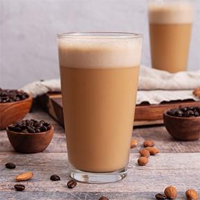 Vanilla Almond Bulletproof Coffee Smoothie