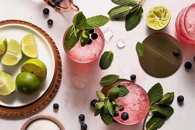 Berry Limeade Mojitos