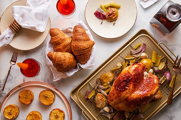 Bourbon-Glazed Roast Turkey Breast